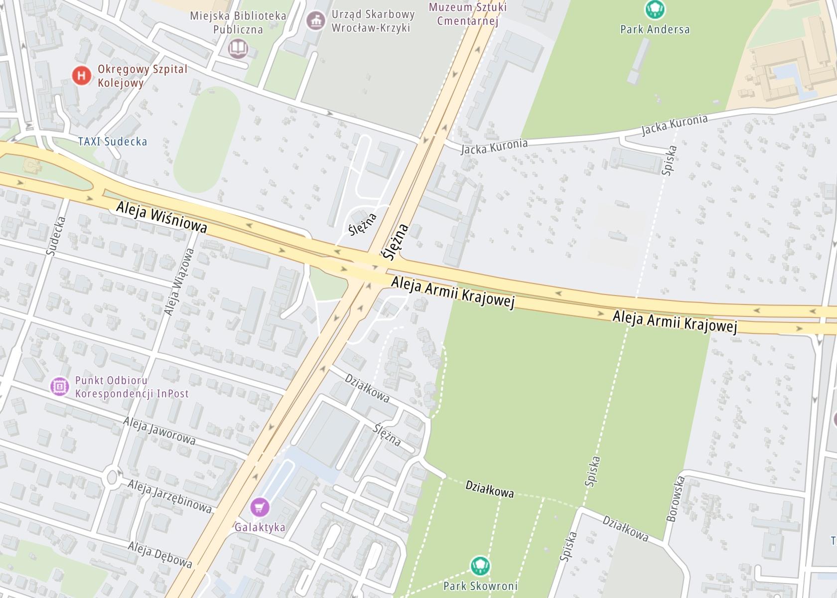 Położenie NZOZ Centrum Zdrowia Psychicznego AKMED na mapie