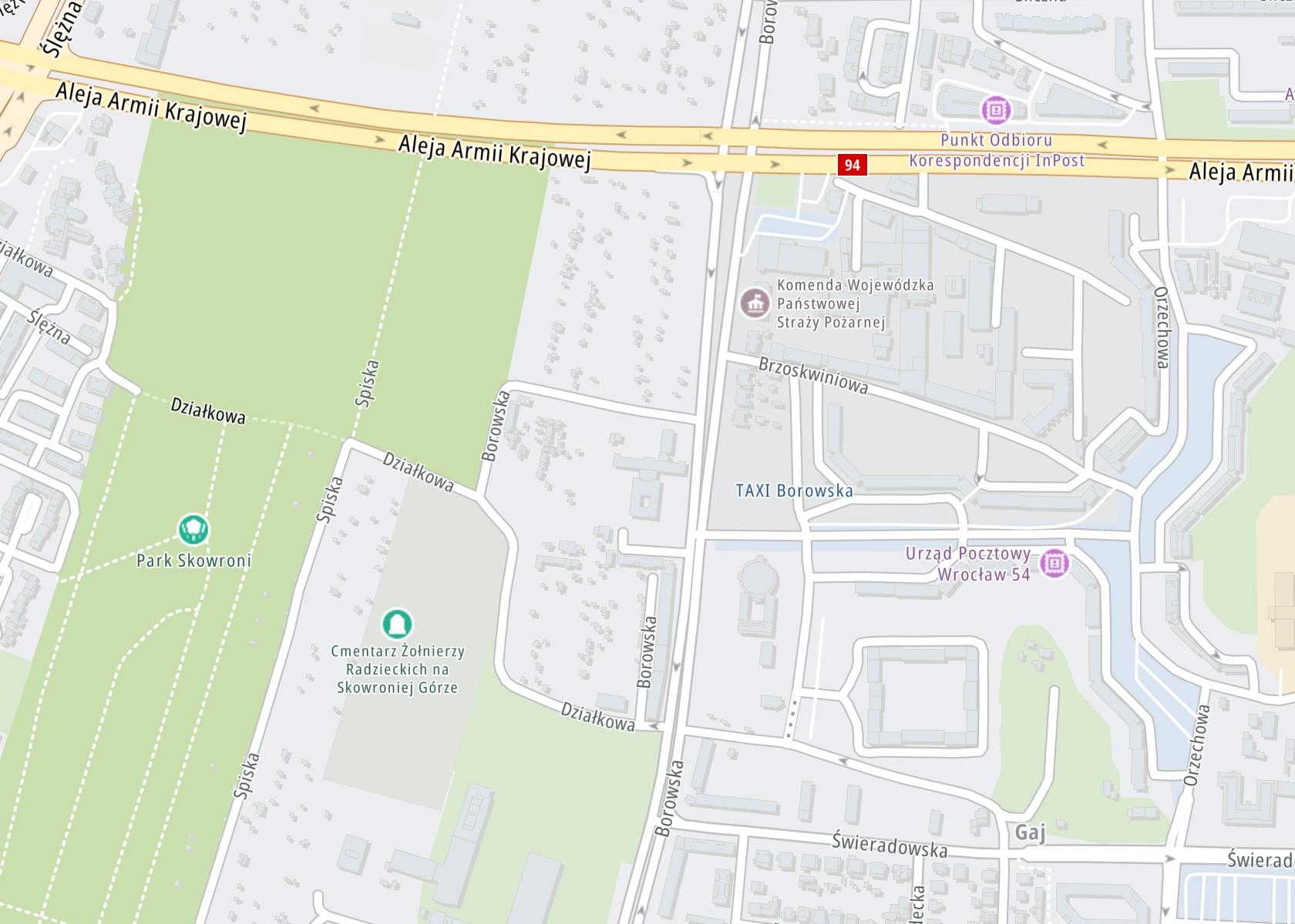 Położenie Centrum Neuropsychiatrii NEUROMED sp z o.o. Wrocław na mapie