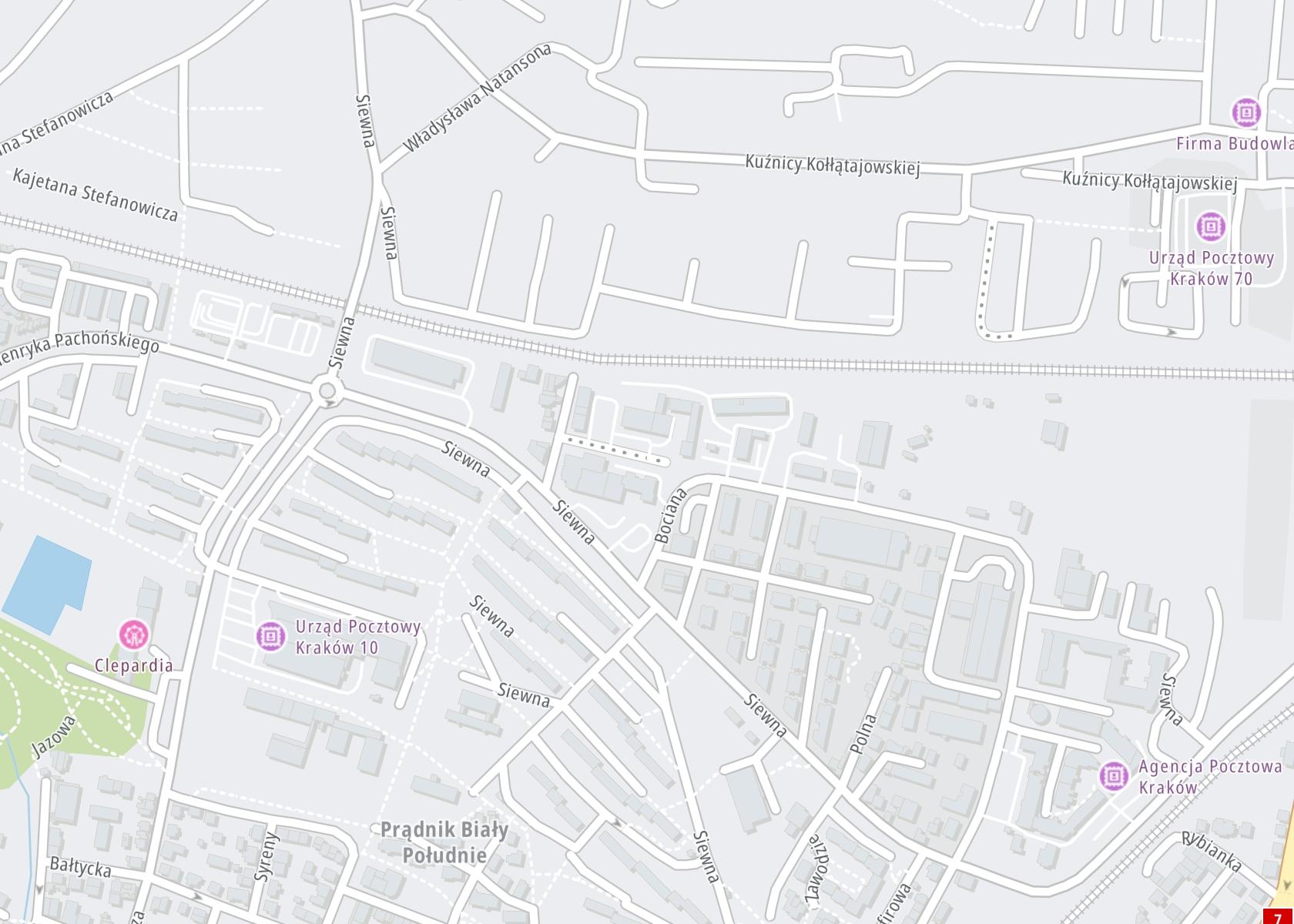 Położenie Nasz Gabinet oddział Kraków na mapie
