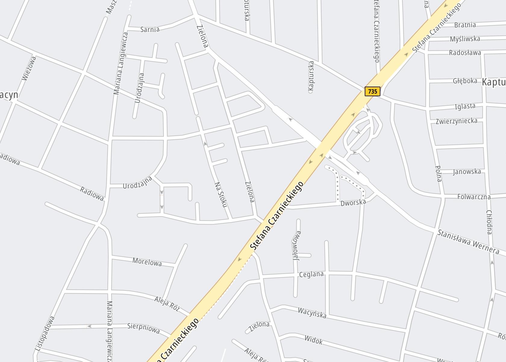 Położenie Mazowiecka Klinika Psychoterapii i Psychiatrii na mapie